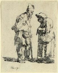Beggar Man and Beggar Woman co