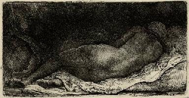 A Negress lying down (B., Holl