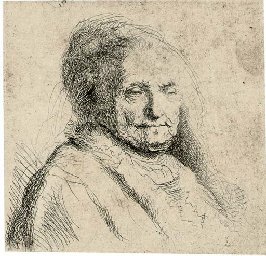 The Artist's Mother, Head and