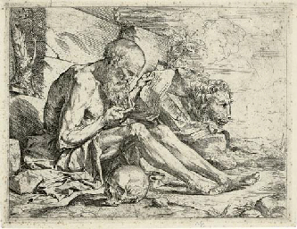 Saint Jerome in the Desert (Ba