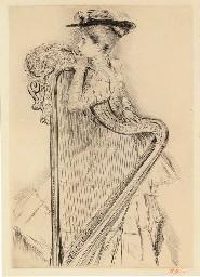 La Femme à la Harpe