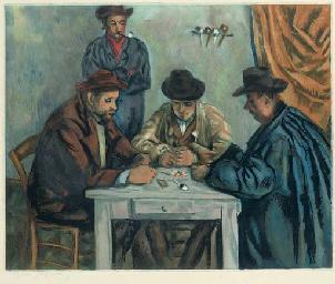 Les Joueurs des Cartes (Ginest