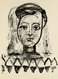 Jeune Femme au Corsage à Trian