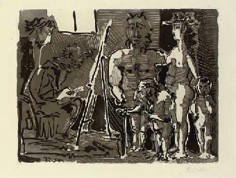 Visiteurs divins à l'Atelier (