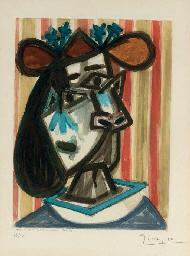 Tête de Femme (cf. Picasso Pro