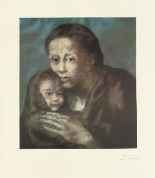 Mère et Enfant, from the Barce