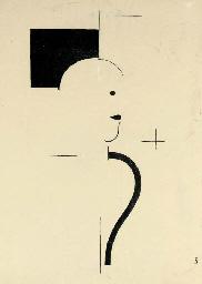 Figur nach rechts (Grohmann L