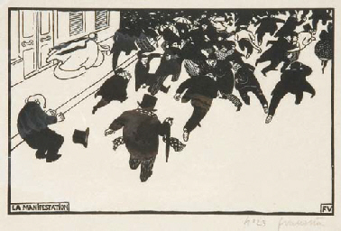 La Manifestation (Vallotton &
