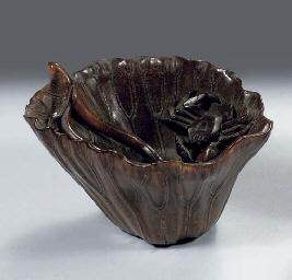 A rinoceros horn libation cup