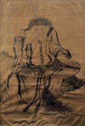 A portrait of Shide
