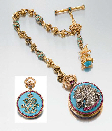 Anon An extremely fine and historically interesting 18K gold...