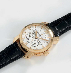 Vacheron Constantin A very fine 18K pink gold self-winding p...