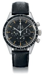 Omega A rare stainless steel water-resistant chronograph wri...