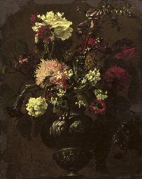 Attributed to Mario Nuzzi, called Mario de' Fiori (Penna c. ...