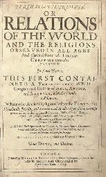 PURCHAS, Samuel (?1575-1626).