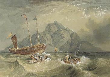 Shipping at the Bocca Tigris,
