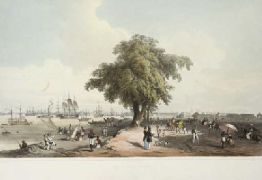 Town and Port of Calcutta; and