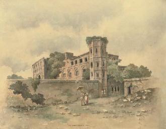 The Great Katra at Dacca; Entr
