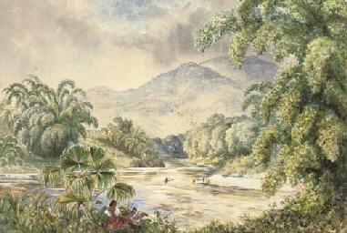 The Mahaweli Ganga below Ganga