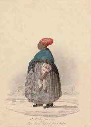 A Malay Woman of Cape Town; an
