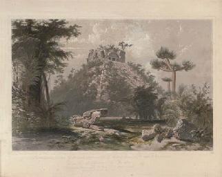 Teocallis, at Chichen-Itza, by