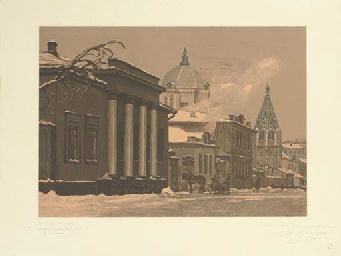 Twelve views of Old Moscow, to