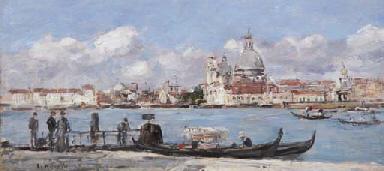 Venise. La salute et la douane