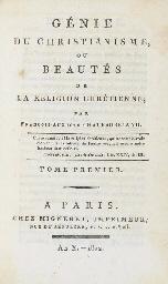 CHATEAUBRIAND, François René, vicomte de (1768-1848) Le Géni...