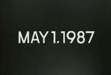 May 1, 1987