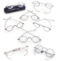 A miscellaneous collection of fifteen steel and silver spect...