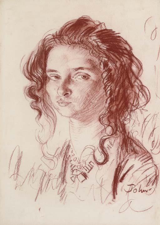 Dorelia McNeill Augustus John OM RA 18781961 Portrait of