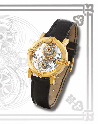 CORUM A VERY FINE AND RARE LIMITED EDITION 18K GOLD SKELETON...