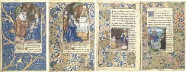 BOOK OF HOURS, use of Rome, in Latin, illuminated manuscript...