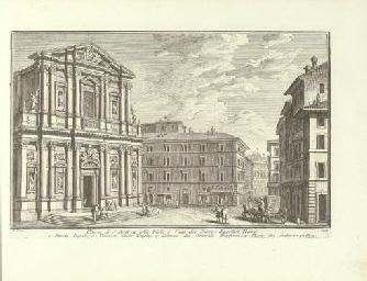 VASI, Giuseppe Agostino (1710-1782) [and Mariano VASI (1744-1820)]. Raccolta delle più belle vedute antiche, e moderne di Roma, [edited by Mariano Vasi]. Rome: the author [i.e. Mariano Vasi], 1786.