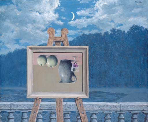 history news magritte at auction