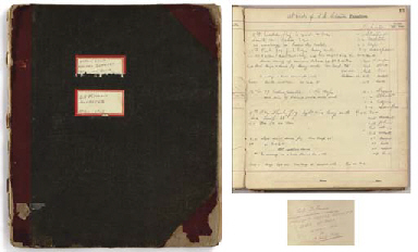 The deck log for the cable ship SS MacKay-Bennett relating t...