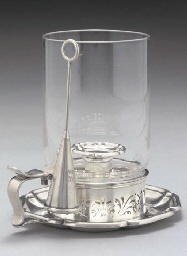 AN EARLY VICTORIAN SILVER STOR