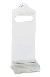 A LUCITE VALET STAND,