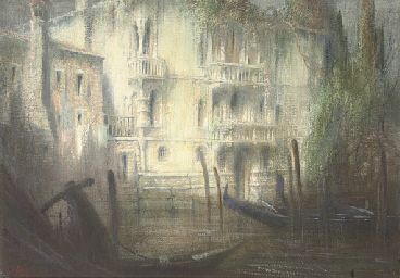 A Venetian backwater at dawn