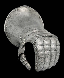A GERMAN LEFT-HAND GAUNTLET