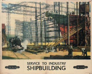 SERVICE TO INDUSTRY, SHIPBUILD