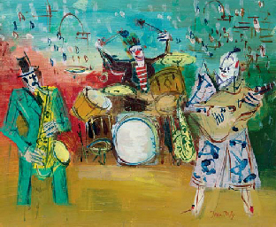 Clowns musiciens