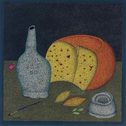 Nature morte avec fromage