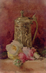 Still Life with Flagon and Ros