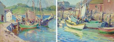 Fishing Boats, Nova Scotia: Tw