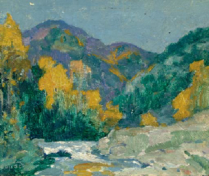 Landscape with Stream