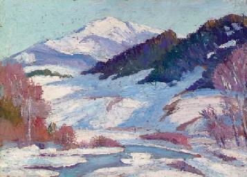 Colorado Landscape, Winter