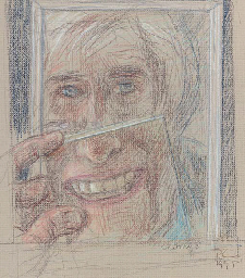 Self Portrait with New Teeth