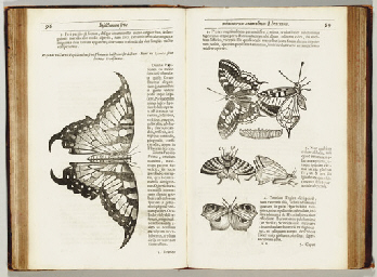 MOFFET, Thomas (1553-1604). Insectorum sive Minimorum Animalium Theatrum. London: Thomas Cotes for Benjamin Allen, 1634.