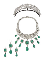 AN HISTORIC EMERALD AND DIAMON